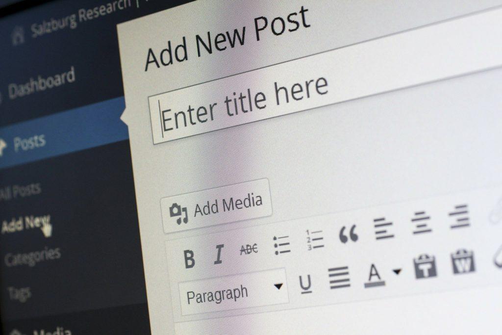 Wordpress Blogartikel neu erstellen